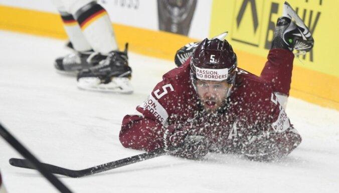 Latvijas izlase Holivudas cienīgā trillerī izstājas no pasaules čempionāta