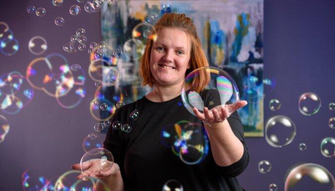 Biznesa ideja: ziepju burbuļi var izmainīt pasauli