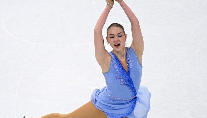 Kučvaļska pasaules čempionātā daiļslidošanā ieņem 33.vietu
