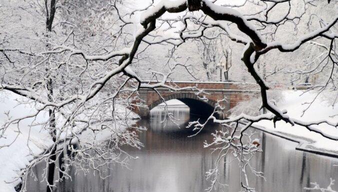 Снегопад: Рига отстает от столиц соседних стран