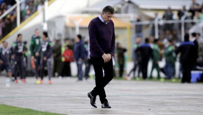 Argentinian coach Hernando Siles stadium, La Paz, Bolivia