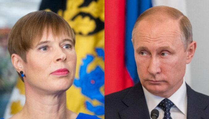 Эстония запросила встречу Кальюлайд с Путиным в Москве