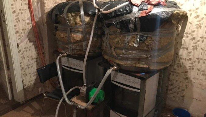 В Даугавпилсе изъято более трех тонн нелегального алкоголя