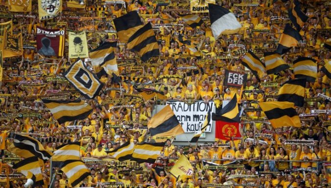 Dynamo Dresden s fans