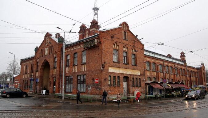 Агенскалнский рынок: заявку на аукцион подали только братья Дамберги