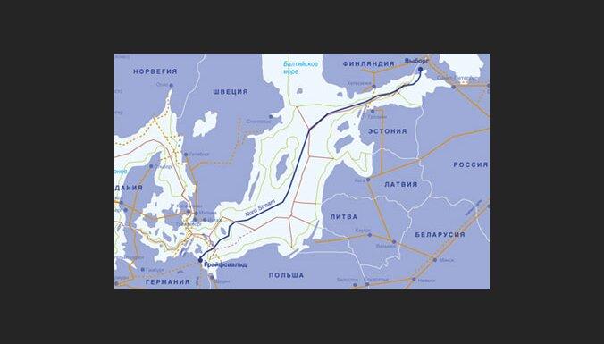 'Nord Stream' gāzes vads ietekmēs zvejniecību Latvijā