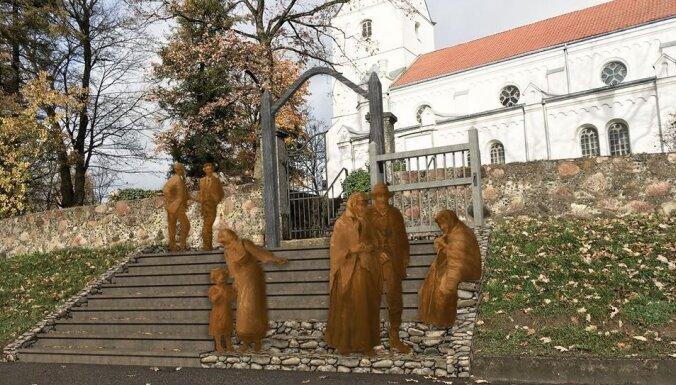 Saldū taps bronzas skulptūru parks