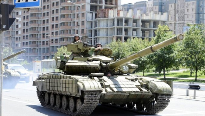 В Донецке после перемирия услышали взрывы и стрельбу