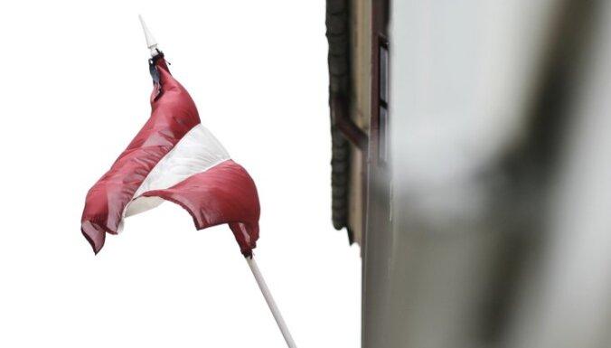 Детей задержали за надругательство над флагом