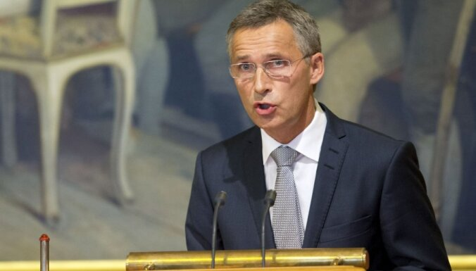 NATO vairāk nekā divkāršos ātrās reaģēšanas spēkus, vēsta Stoltenbergs