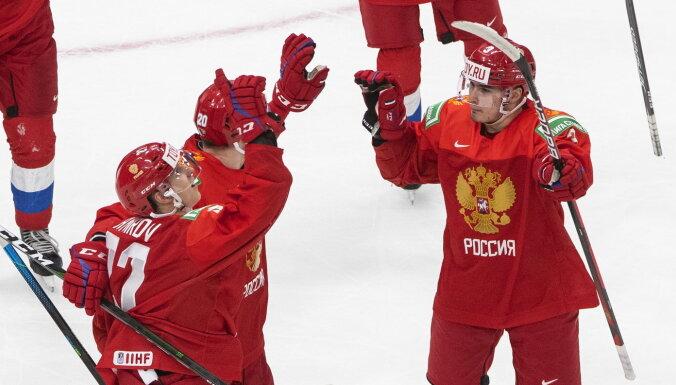 Забросили 11 шайб: как Россия разгромила Чехию на юниорском чемпионате мира