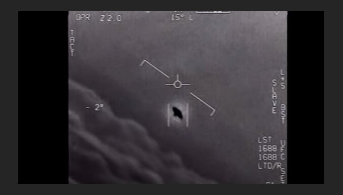 Pentagons oficiāli publisko NLO video