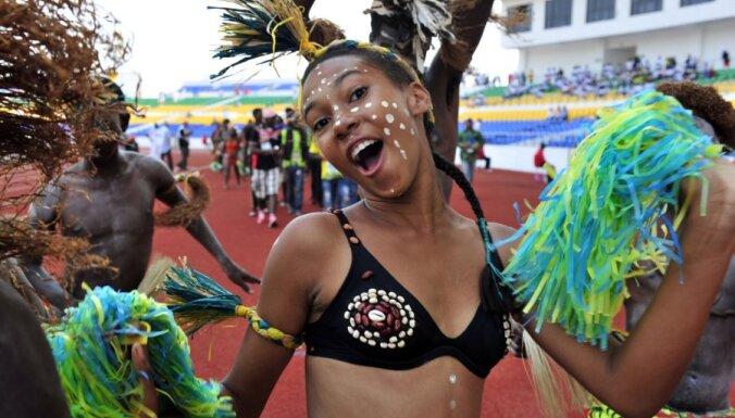 Футбол по-африкански: на трибунах Кубка Африки