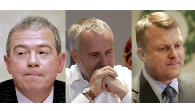 Zatlers: Latvijas oligarhi ir Šķēle, Šlesers un Lembergs - DELFI