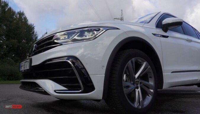 ВИДЕО: Volkswagen Tiguan набирает обороты