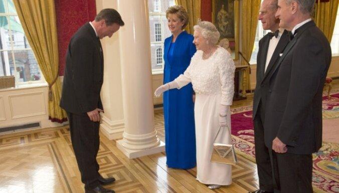 Elizabete II pirmo reizi apmeklēs Ministru kabineta sēdi