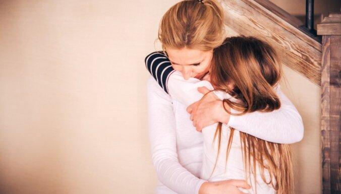 В Агенскалнсе две маленьких девочки остались без присмотра