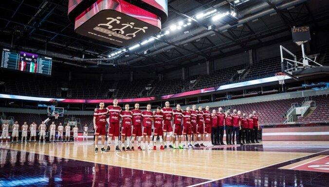 Latvijas basketbola izlase PK kvalifikācijas turnīru uzsāks Rīgā