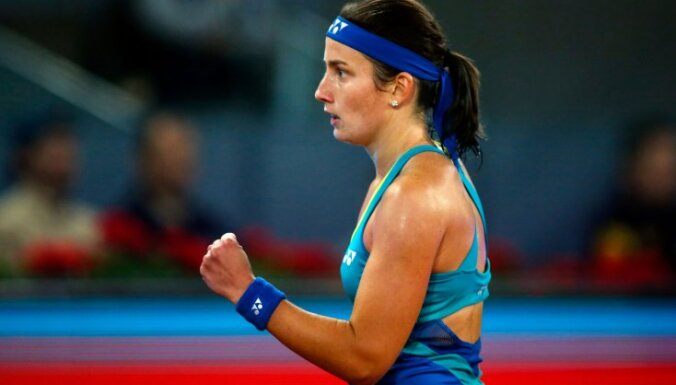 Latvian tennis player Anastasija Sevastova