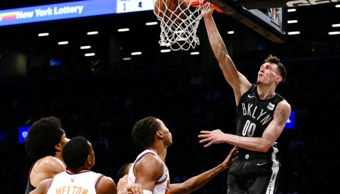 """Родион Куруц сделал первый в карьере """"дабл-дабл"""" в чемпионате НБА"""