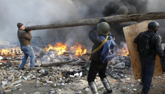 Украина: блокирована граница с Польшей, в Киев переброшен десант