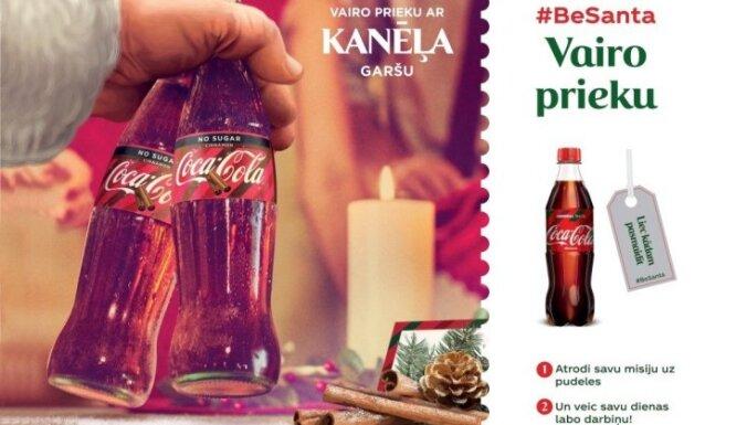 Coca-Cola un kustība #BeSanta aicina Tevi kļūt par labo darbu vēstnesi