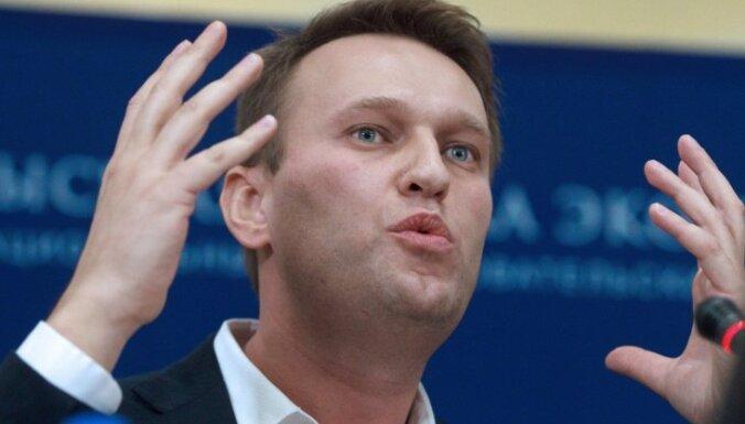 Krievijas opozīcija uz Maskavas mēra amatu izvirza Navaļniju