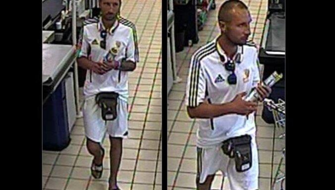 Полиция разыскивает мужчину, подозреваемого в воровстве