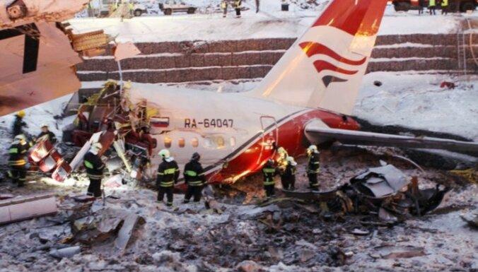 Izmeklētāji: 'TU-204' avārija nav saistīta ar skrejceļa stāvokli