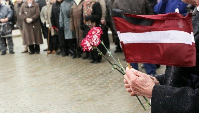 Латвия вспоминает жертв депортации 25 марта 1949 года