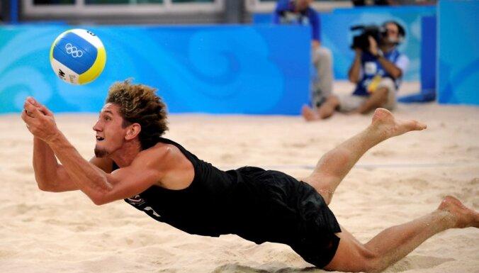 Alexander Samoilov, beach-volley