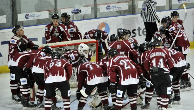 'Rīgas' hokejisti tiek pie pirmā punkta šīs sezonas MHL čempionātā