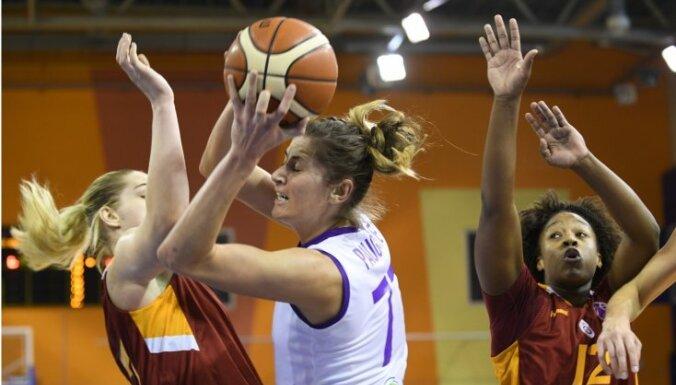 'TTT Rīga' basketbolistes FIBA Eirokausa mačā piekāpjas 'Galatasaray' ar Vītolu sastāvā