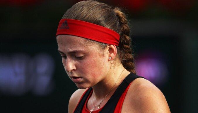 Ostapenko un Sevastova pirms Štutgartes turnīra WTA rangā pozīcijas nemaina