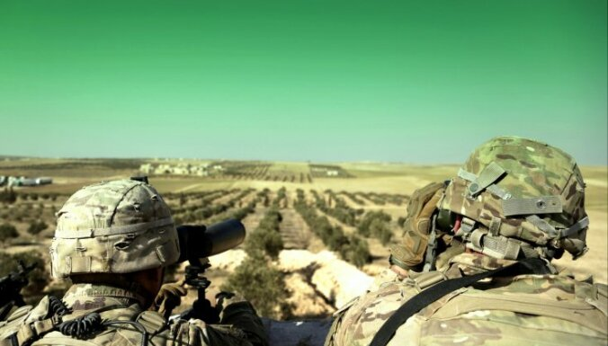 ASV spēki gatavojas atsist jaunus Krievijas algotņu uzbrukumus