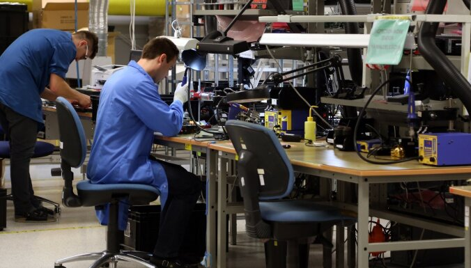 Латвия вошла в тройку стран ЕС с самым большим приростом выпуска промышленной продукции