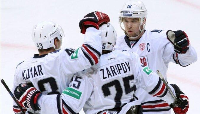KHL Zvaigžņu spēles sākumsastāvā iebalso trīs Magņitogorskas 'Metallurg' spēlētājus