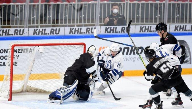 'Rīgas' hokejisti atkārtotā spēlē revanšējas MHL čempionāta vicelīderiem