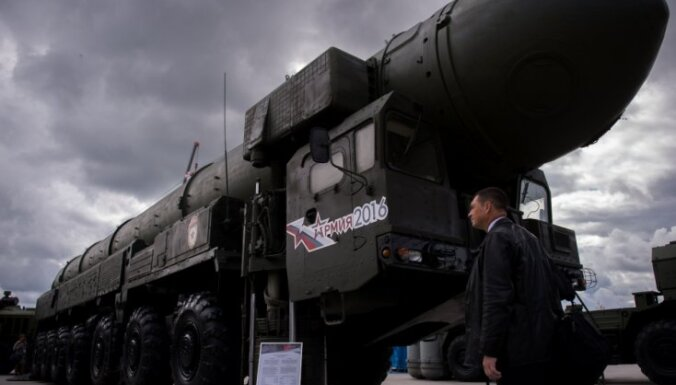 ASV ir gatavas nekavējoties ar Krieviju vienoties par kodolgalviņu skaita iesaldēšanu