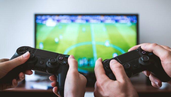 Kibernoziegumos biežāk izmanto ar videospēlēm saistītus tematus