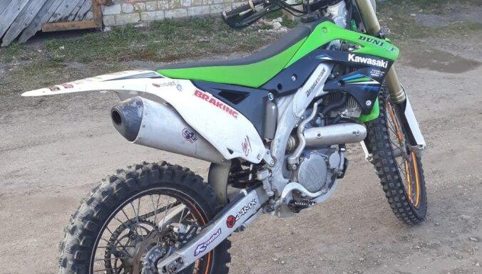 Из гаража украли мотоцикл для мотокросса: полиция ищет свидетелей