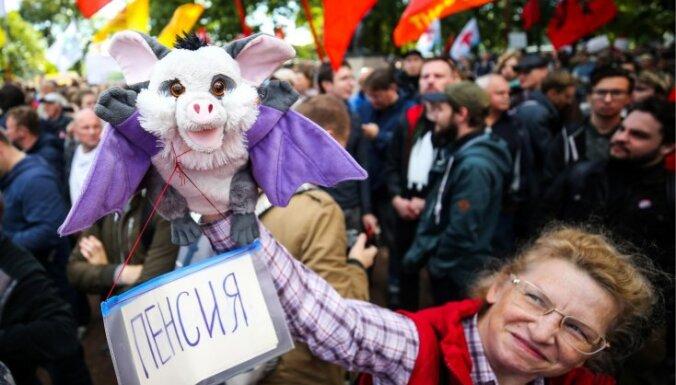 Krievijas Valsts dome galīgajā lasījumā apstiprina pensiju reformu