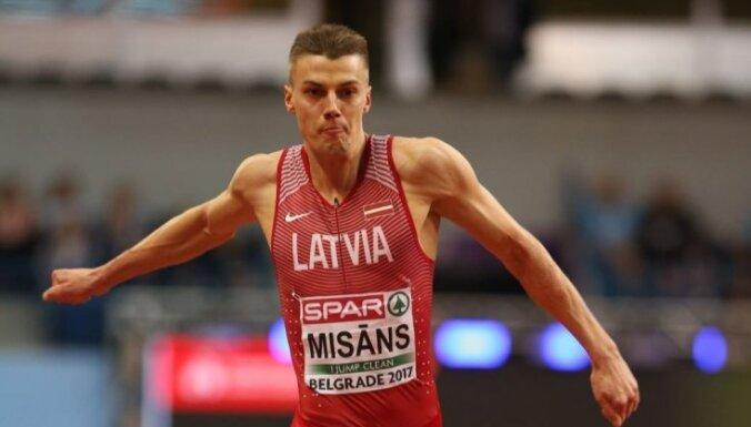 Trīssoļlēcējam Misānam sestā vieta IAAF Izaicinājuma sacensībās Somijā