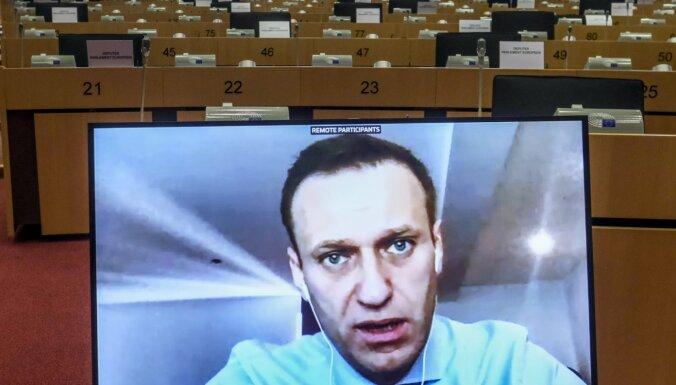 Navaļnijs aicina ES uztvert Krievijas varu kā noziedznieku bandu