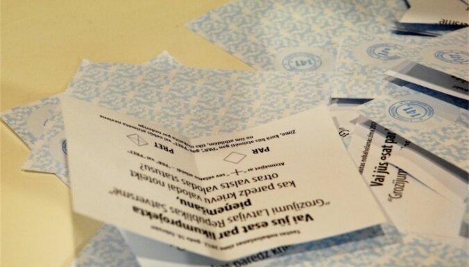 Получено три жалобы о подкупе избирателей