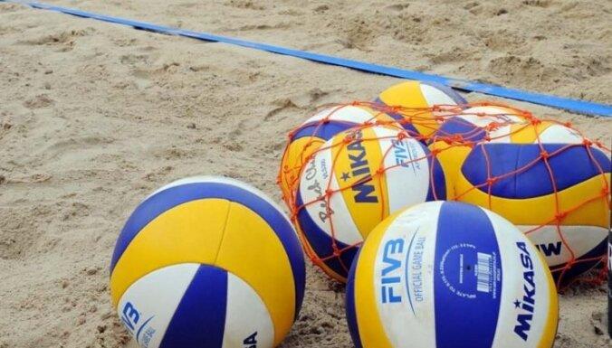 Pludmales volejbolistēm Krastiņai/Jaundzemai otra uzvara Eiropas U-23 čempionātā