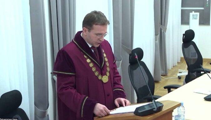 Skultes pagasta pievienošanu Saulkrastu novadam atzīst par neatbilstošu Satversmei (plkst.16.43)