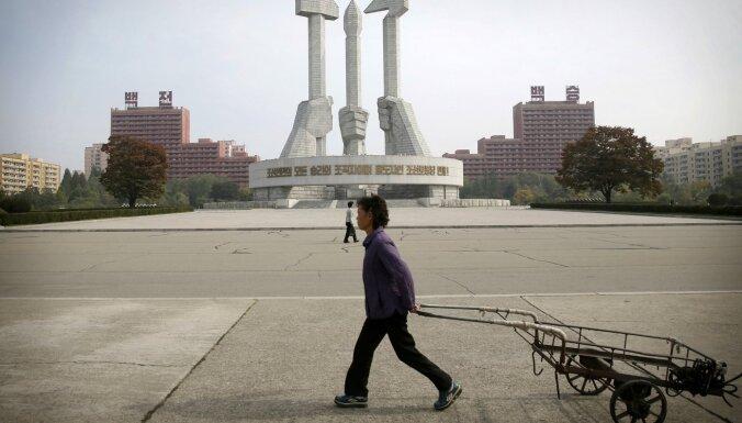 Ziemeļkoreja progresējusi kodolieroču izstrādē, ziņo ANO