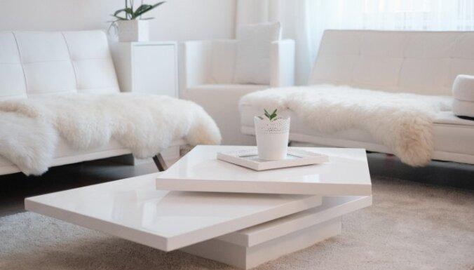 ФОТО. Самая белая рижская квартира, которую вы только можете себе представить