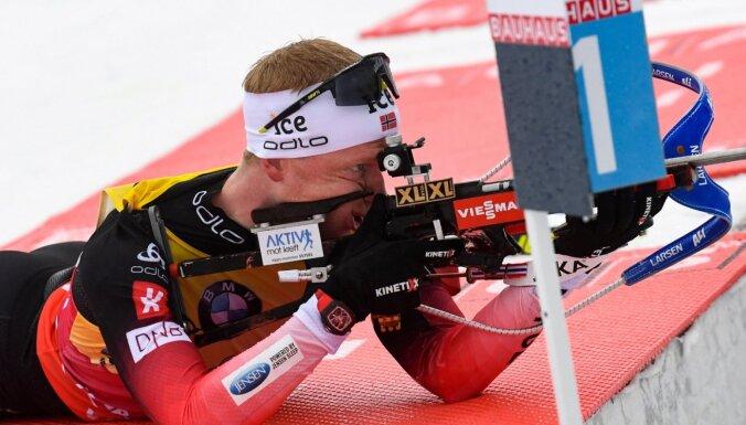 Norvēģi J.T.Bē un Ekhofa pārliecinoši uzvar Pasaules kausa sacensībās ar kopēju startu